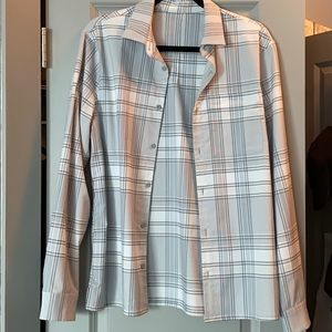 lululemon men's flannel